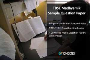 TBSE Madhyamik Sample Question Paper- Previous/ Model Papers