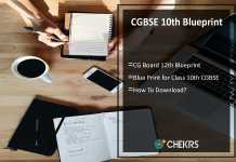 CGBSE 10th Blueprint- CG Board 12th Blueprint Download