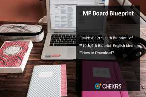 MP Board Blueprint- MPBSE 12th, 11th, 10th, 9th Blueprint
