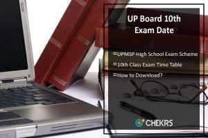 UP Board 10th Exam Date- UPMSP High School Exam Scheme