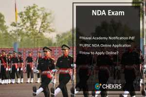 NDA Notification, Application Form, Exam Date & Syllabus