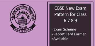 CBSE New Exam Pattern for Class 6 7 8 9: Exam Pattern