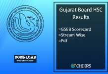 GSEB 12th Result - Gujarat Board HSC Arts, Commerce, Science Results