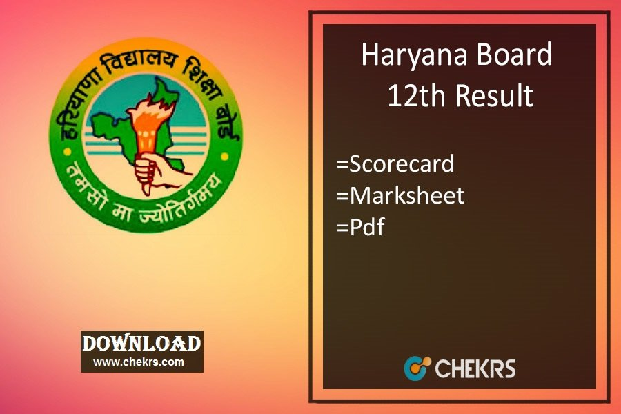 Haryana Board 12th Result- HBSE Arts, Commerce, Science Results