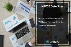 JKBOSE Date Sheet- 8th, 9th, 11th Class Time Table Pdf