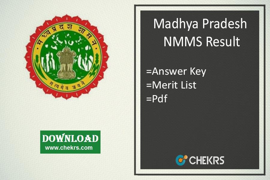 NMMS MP Result: Madhya Pradesh NMMS Answer Key, Merit