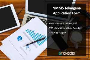 NMMS Telangana Application Form, Syllabus, Exam Date