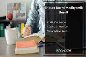 Tripura Board Madhyamik Result- TBSE 10th Results, tbse.in
