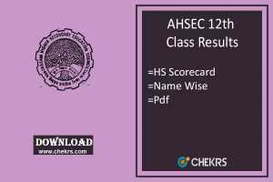 Assam HS Result- AHSEC 12th Class Results, ahsec.nic.in