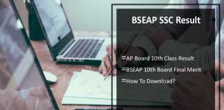 AP SSC Result - BSEAP 10th Class Result 2017 Marks