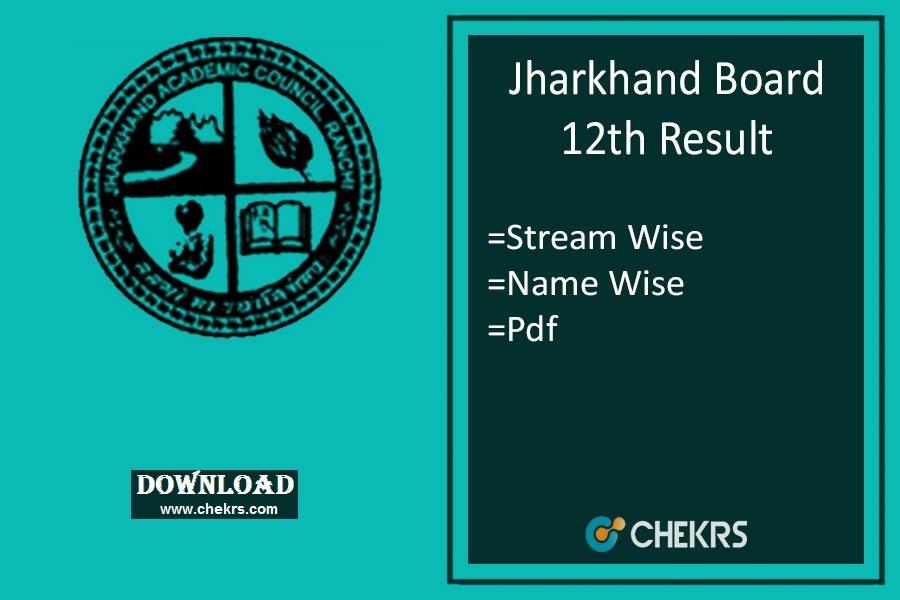 Jharkhand 12th Result Download
