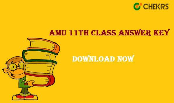amu 11th class answer key