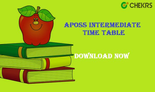 aposs 12th time table