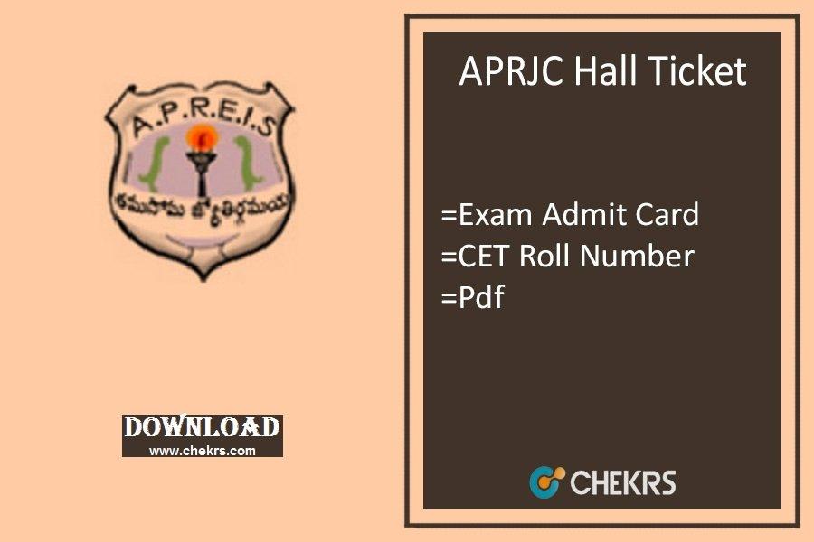aprjc hall ticket