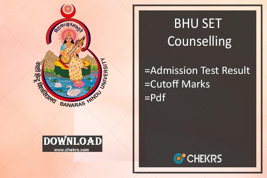 bhu set counselling