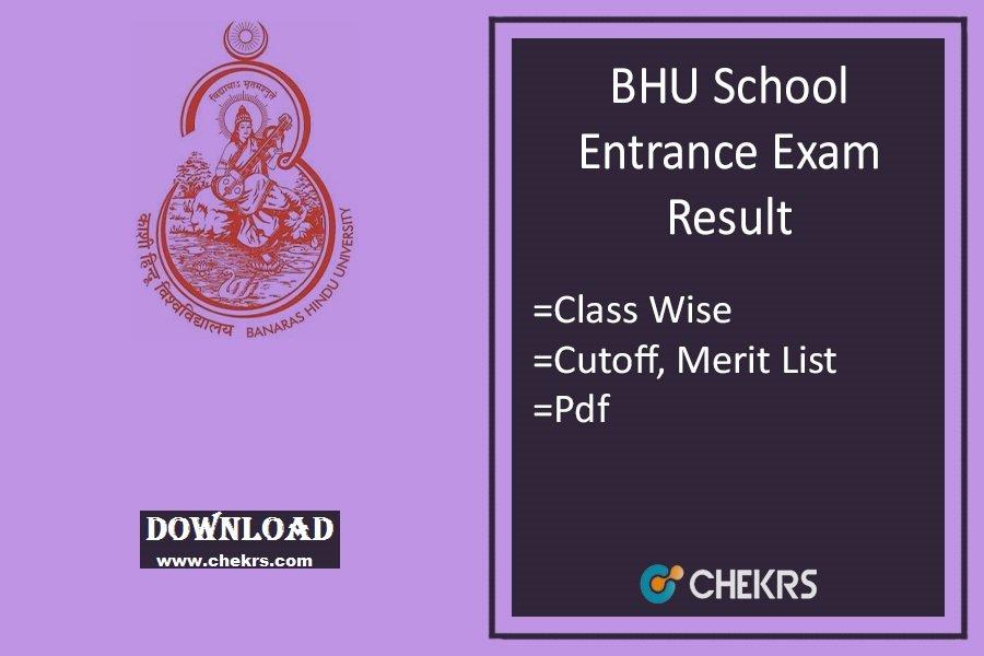 bhu set result