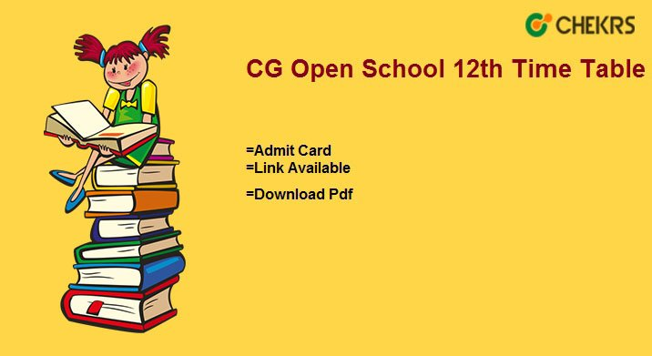 cgsos 12th time table