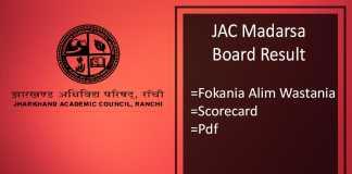 jac madarsa board result