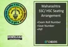 maharashtra seating arrangement