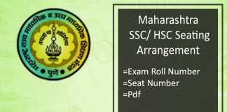 maharashtra seating arrangement
