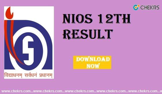 nios 12th result