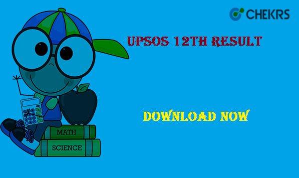 upsos 12th result