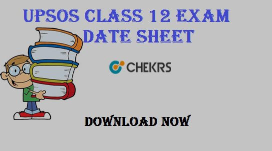 upsos 12th time table