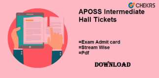 aposs intermediate hall tickets