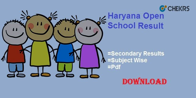 haryana open school result