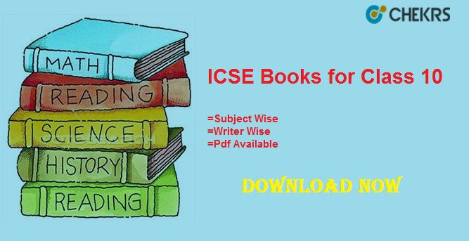 icse books for class 10