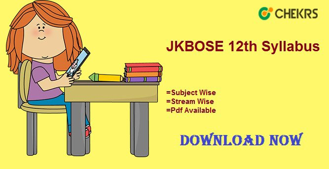 jkbose 12th syllabus