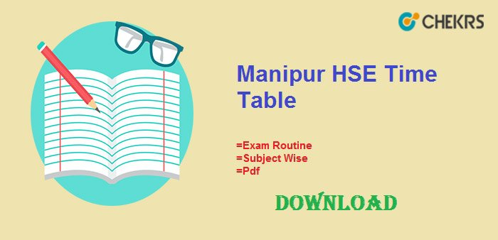 manipur hse time table